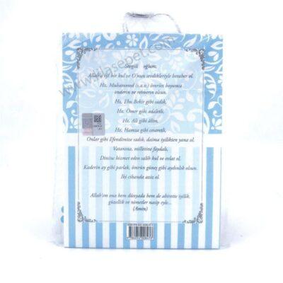 Ana Sayfa mevlut hediyesi yasin kitabi tesbih kese mavi 400x400