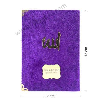 Ana Sayfa kadife yasin kitabi mevlut mor 400x400