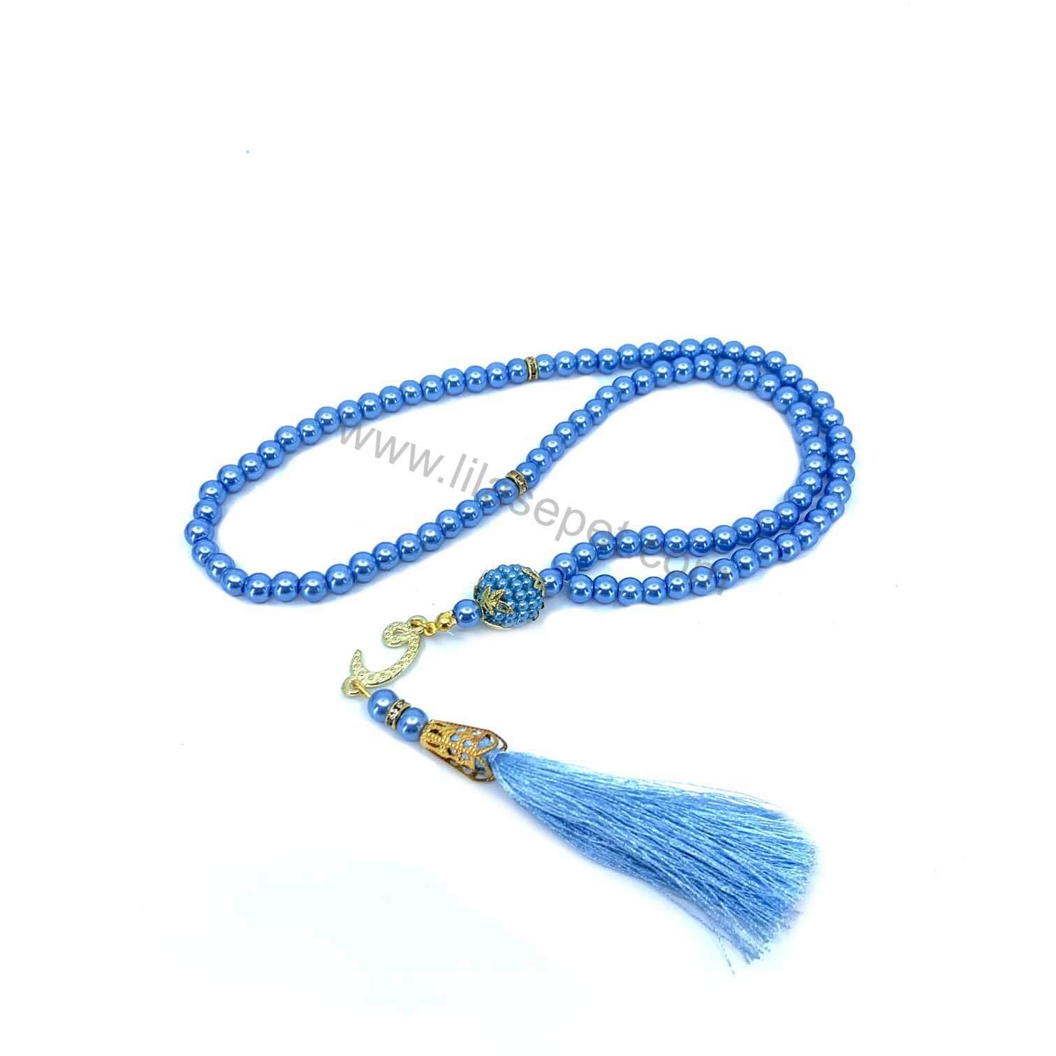 Ana Sayfa bebek mavi inci tesbih mevlut seti mevlid hediyelikleri