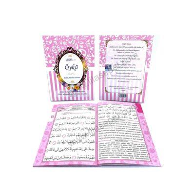 Ana Sayfa evlat kokusu pembe hediyelik yasin kitabi bebek mevlutu hediyesi mevlut seti turkce 400x400