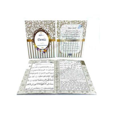 Ana Sayfa sari gold hediyelik yasin kitabi bebek mevlutu hediyesi mevlut seti turkce 400x400